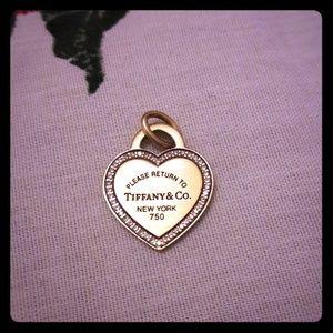 Beautiful Tiffany & CO. Necklace Charm